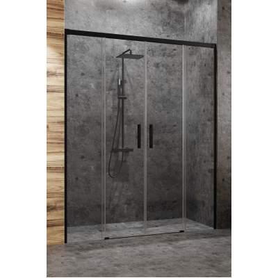 Душевая дверь Radaway Idea Black DWD 180 стекло прозрачное