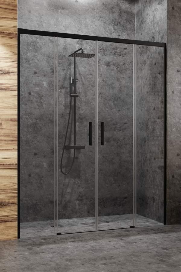 Душевая дверь Radaway Idea Black DWD 150 стекло прозрачное