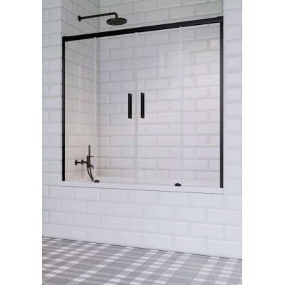 Шторка для ванны Radaway Idea Black PN DWD